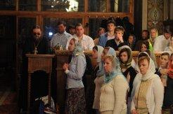 Фоторепортаж из Свято-Троицкого Ионинского монастыря о праздновании Светлого праздника Пасхи 450