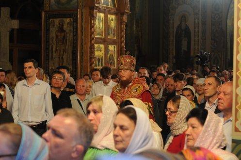Фоторепортаж из Свято-Троицкого Ионинского монастыря о праздновании Светлого праздника Пасхи 454