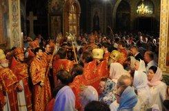 Фоторепортаж из Свято-Троицкого Ионинского монастыря о праздновании Светлого праздника Пасхи 458