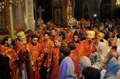Фоторепортаж из Свято-Троицкого Ионинского монастыря о праздновании Светлого праздника Пасхи 459