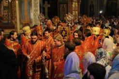 Фоторепортаж из Свято-Троицкого Ионинского монастыря о праздновании Светлого праздника Пасхи 460