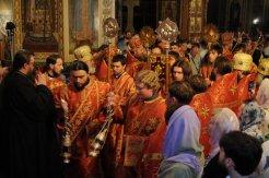 Фоторепортаж из Свято-Троицкого Ионинского монастыря о праздновании Светлого праздника Пасхи 461