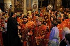 Фоторепортаж из Свято-Троицкого Ионинского монастыря о праздновании Светлого праздника Пасхи 462