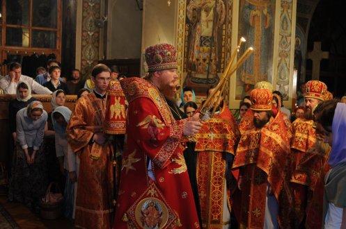 Фоторепортаж из Свято-Троицкого Ионинского монастыря о праздновании Светлого праздника Пасхи 465