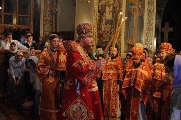 Фоторепортаж из Свято-Троицкого Ионинского монастыря о праздновании Светлого праздника Пасхи 466