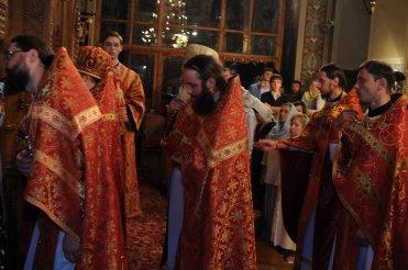 Фоторепортаж из Свято-Троицкого Ионинского монастыря о праздновании Светлого праздника Пасхи 478