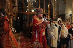 Фоторепортаж из Свято-Троицкого Ионинского монастыря о праздновании Светлого праздника Пасхи 493
