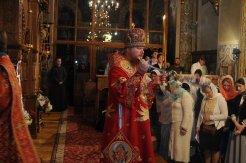 Фоторепортаж из Свято-Троицкого Ионинского монастыря о праздновании Светлого праздника Пасхи 494