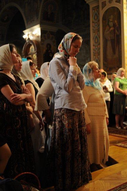 Фоторепортаж из Свято-Троицкого Ионинского монастыря о праздновании Светлого праздника Пасхи 514