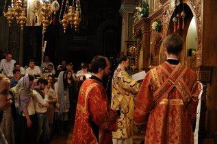 Фоторепортаж из Свято-Троицкого Ионинского монастыря о праздновании Светлого праздника Пасхи 515