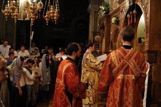 Фоторепортаж из Свято-Троицкого Ионинского монастыря о праздновании Светлого праздника Пасхи 516