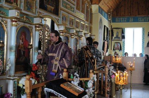 Фоторепортаж. Первое мая в сельском храме села Сукачи 48