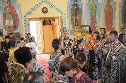 Фоторепортаж. Первое мая в сельском храме села Сукачи 51