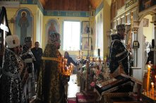 Фоторепортаж. Первое мая в сельском храме села Сукачи 55