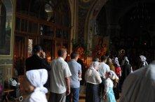 Святая Троица. Фотографии праздничного богослужения из Свято-Троицкого Ионинского монастыря.2013 год. 6