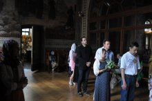Святая Троица. Фотографии праздничного богослужения из Свято-Троицкого Ионинского монастыря.2013 год. 8