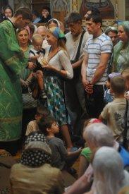 Святая Троица. Фотографии праздничного богослужения из Свято-Троицкого Ионинского монастыря.2013 год. 168