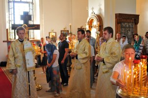 300 фото с храмового праздника Преображение Господне Спасо-Преображенского скита Ионинского монастыря 29