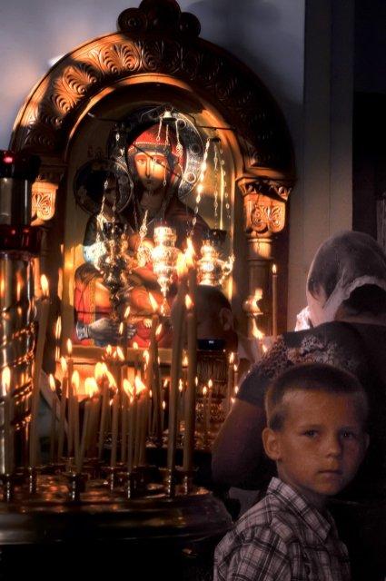 300 фото с храмового праздника Преображение Господне Спасо-Преображенского скита Ионинского монастыря 51