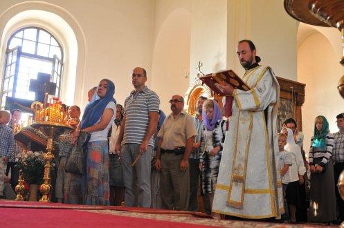 300 фото с храмового праздника Преображение Господне Спасо-Преображенского скита Ионинского монастыря 81