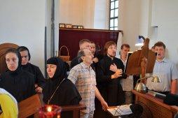300 фото с храмового праздника Преображение Господне Спасо-Преображенского скита Ионинского монастыря 113