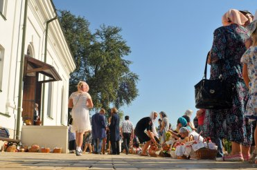 300 фото с храмового праздника Преображение Господне Спасо-Преображенского скита Ионинского монастыря 175