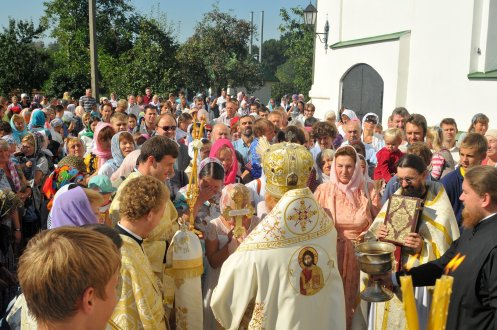 300 фото с храмового праздника Преображение Господне Спасо-Преображенского скита Ионинского монастыря 216