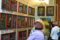 То, что радует глаз и где отдыхает душа. Выставка Вячеслава Мищенко в Национальной Парламентской библиотеке Украины. 2