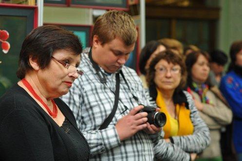 То, что радует глаз и где отдыхает душа. Выставка Вячеслава Мищенко в Национальной Парламентской библиотеке Украины. 28