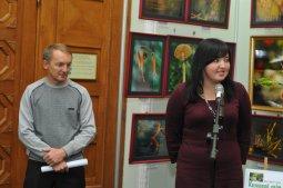 То, что радует глаз и где отдыхает душа. Выставка Вячеслава Мищенко в Национальной Парламентской библиотеке Украины. 37