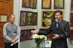 То, что радует глаз и где отдыхает душа. Выставка Вячеслава Мищенко в Национальной Парламентской библиотеке Украины. 40