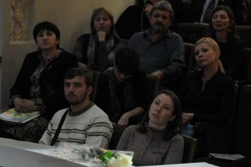 Вечер памяти о. Лонгина в Доме учителя 128