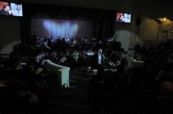 Вечер памяти о. Лонгина в Доме учителя 27