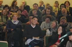 Вечер памяти о. Лонгина в Доме учителя 71