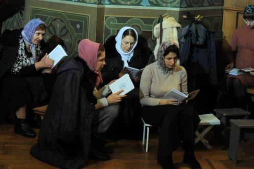 Фотографии с Рождественской службы в СвятоТроицком Ионинском монастыре 1