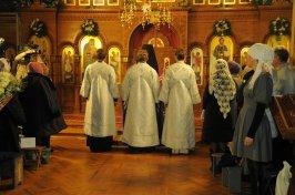 Фотографии с Рождественской службы в СвятоТроицком Ионинском монастыре 14