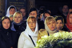 Фотографии с Рождественской службы в СвятоТроицком Ионинском монастыре 26