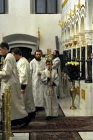 Несколько фотографий с Рождественской службы из Свято-Троицкого Китаевского мужского монастыря. 26