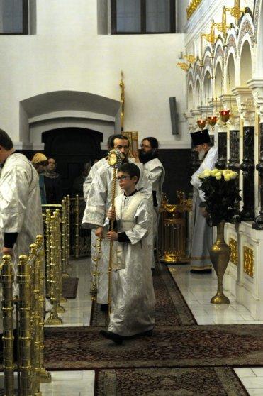 Несколько фотографий с Рождественской службы из Свято-Троицкого Китаевского мужского монастыря. 27