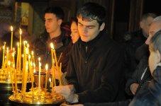, Фотографии с Рождественской службы в СвятоТроицком Ионинском монастыре, Авторская студия профессионального фотографа Сергея Рыжкова
