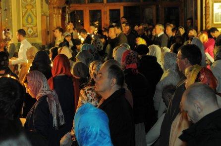 Фотографии с Рождественской службы в СвятоТроицком Ионинском монастыре 43