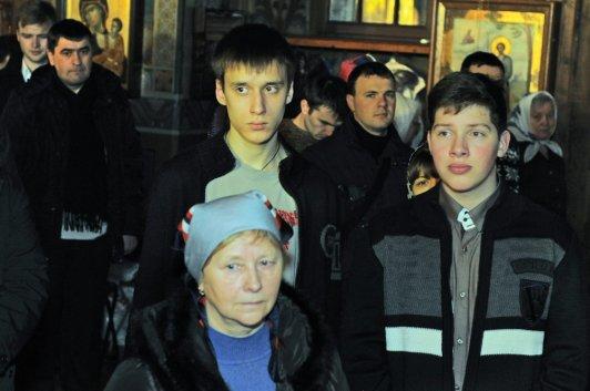 Фотографии с Рождественской службы в СвятоТроицком Ионинском монастыре 45