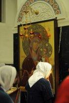 Несколько фотографий с Рождественской службы из Свято-Троицкого Китаевского мужского монастыря. 48