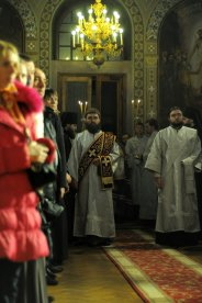 Фотографии с Рождественской службы в СвятоТроицком Ионинском монастыре 76