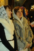 Фотографии с Рождественской службы в СвятоТроицком Ионинском монастыре 93