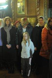 Фотографии с Рождественской службы в СвятоТроицком Ионинском монастыре 115
