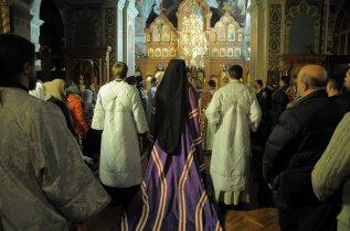Фотографии с Рождественской службы в СвятоТроицком Ионинском монастыре 126