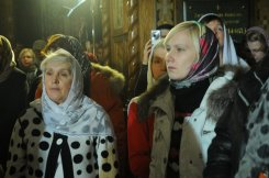 Фотографии с Рождественской службы в СвятоТроицком Ионинском монастыре 132