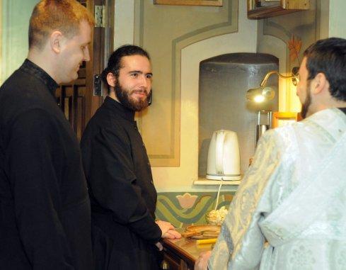 Фотографии с Рождественской службы в СвятоТроицком Ионинском монастыре 167