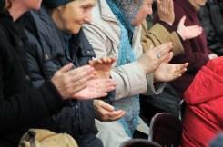 Духовная музыка в исполнении фольклорного ансамбля «Многая лета» в галерее «Соборная» Духовно-просветительского центра УПЦ 40